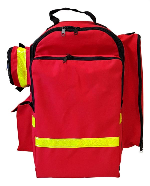 OXYGEN THERAPY BACK PACK MANUAL SUCTION FIRST AID KIT