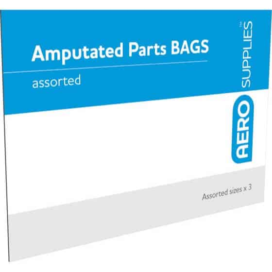 AMPUTATED PARTS BAG (ENVELOPE OF 3 )