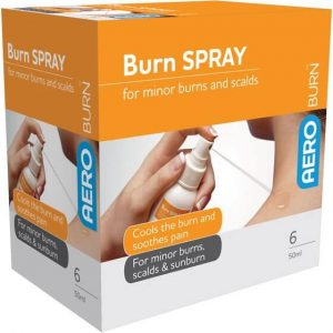 BURN GEL SPRAY 50ML
