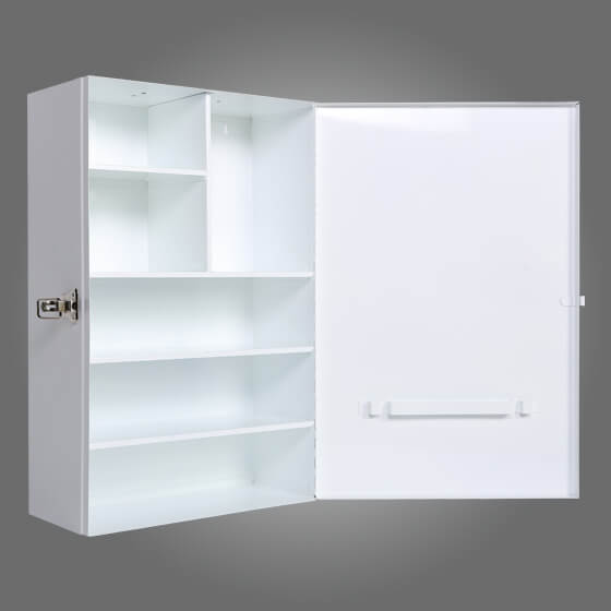 Aero Metal First Aid Cabinet - Large Side Opening.