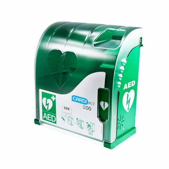 CardiAct Outdoor AED Cabinet