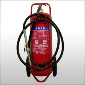 Type AFFF mobile Wheeled Fire Extinguisher (S/S)