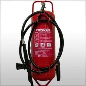 Type ABE mobile wheeled fire extinguisher 50kg
