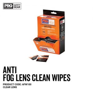 pro choice ANTI FOG LENS CLEANING WIPES