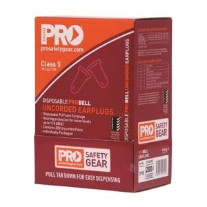 PROCHOICE PRO-BELLPU EARPLUGS UNCORDED