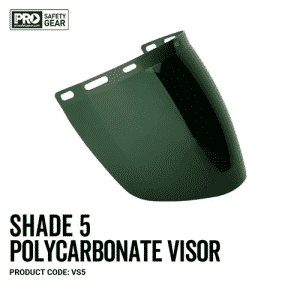 PROCHOICE SHADE 5 POLYCARBONATE VISOR
