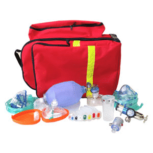 OXYGEN DEMAND RESUS KIT 1ST AID BAG