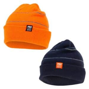 PROCHOICE retro-reflective beanie-orange