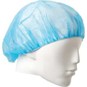 PROCHOICE DISPOSABLE BOUFFANT CAP BLUE 24 INCH PP