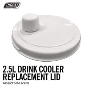 THORZT 2.5L DRINK COOLER REPLACEMENT LID