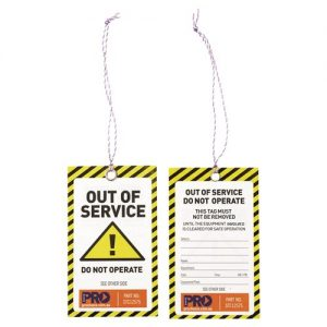 "SAFETY TAGS ""CAUTION"""