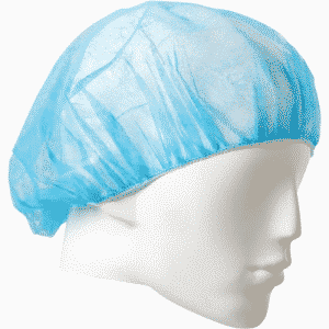DISPOSABLE BOUFFANT CAP BLUE 21 INCH PP