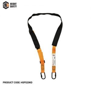 linq pole strap double action karabiner
