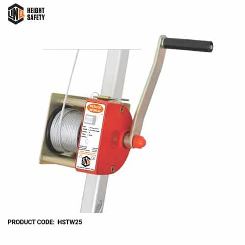 LINQ confined space entry rescue winch