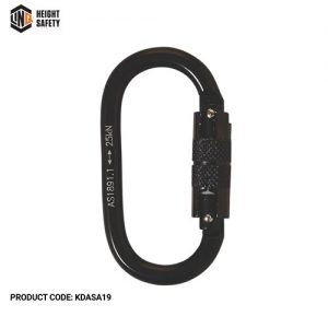 LINQ DOUBLE ACTION STEEL ALLOY KARABINER