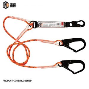linq double rope lanyard