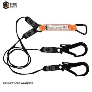 LINQ ELITE DOUBLE LEG WEBBING LANYARD WITH KT&ST