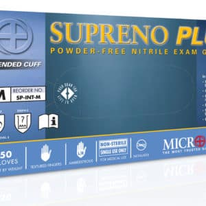 Supreno plus disposable nitrile gloves