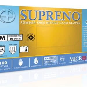 Supreno Disposable Nitrile Gloves