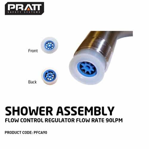 Shower Assembly Flow Control Regulator Flow Rate 90Lpm |
